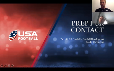 Prep For Contact With USA Football